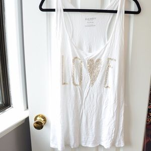 Tops - Old navy sequin tank top