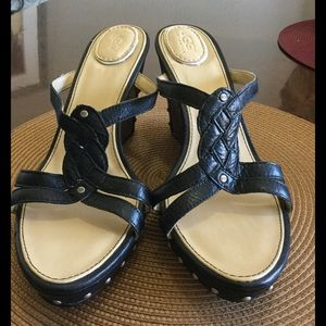 71 Off Ugg Shoes Ugg Salah Brown Leather Gladiator