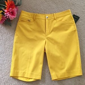 Lauren Ralph Lauren Pants - Sunflower Yellow Shorts