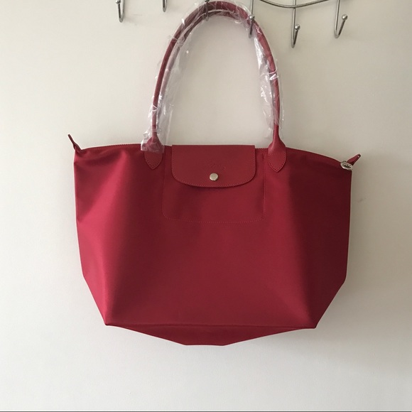 info for eb65b 9f2f5 Longchamp Handbags - Longchamp Le Pliage Neo Long Handle Large Tote