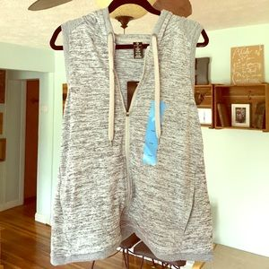 Active Life Tops - NWT Active Life Hooded Zip Up Athletic Vest