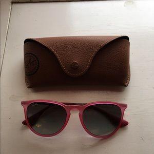 Pink Erika Ray Ban sunglasses