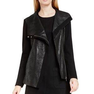 NWT Two by Vince Camuto Asymmetrical Moto Jacket