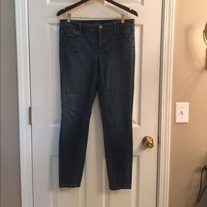 Skinny jeans from LOFT, worn about two times -