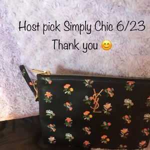 Yves Saint Laurent Handbags - YSL Prairie Flower Wristlet ❤️❤️HP 6/23❤️❤️