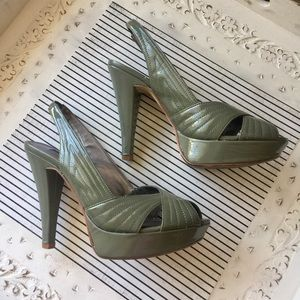 Chinese Laundry Shoes - Chinese Laundry Open Toe Slingback Stiletto Heels