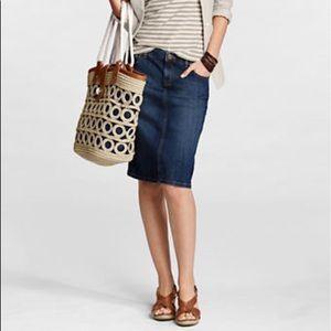 🎈Lands End Jean Skirt