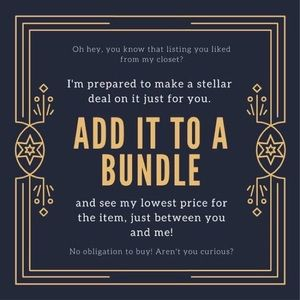 Accessories - Confidential pricing on bundles!
