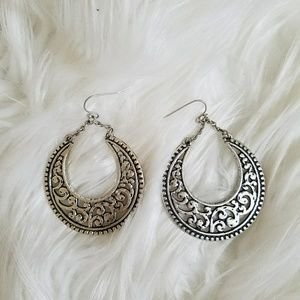 Brighton Jewelry - Never worn silver earrings