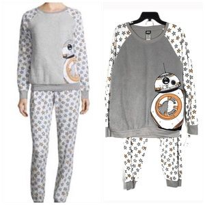 Star Wars Other - Star Wars BB-8 Fleece Pajama Set