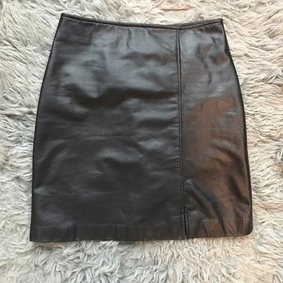 56 talbots dresses skirts genuine leather talbots