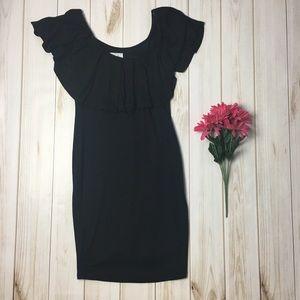 Black Off The Shoulder Summer Dress