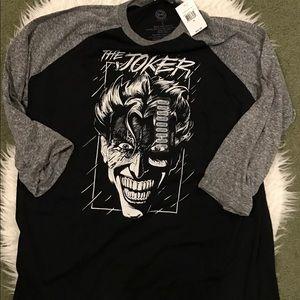 DC Other - The Joker Baseball Graphic Tee