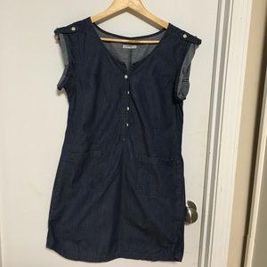 Gap denim shirt dress