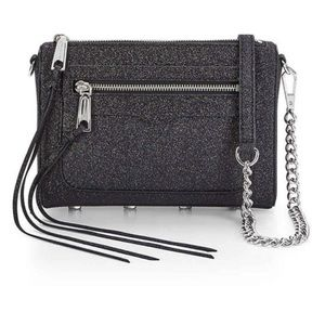 Rebecca Minkoff Handbags - New Rebecca Minkoff glitter Avery