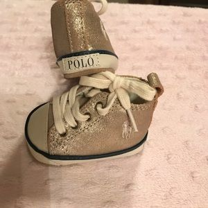 Polo by Ralph Lauren Other - Newborn Polo High-tops