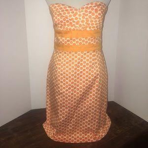 Donna Ricco Dresses & Skirts - Donna Ricco Polka Dot Strapless Dress
