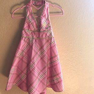 Youngland Other - Youngland plaid halter dress.