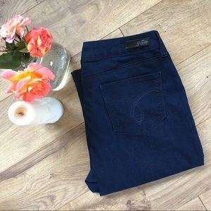 Royalty for Me Denim - ROYALTY FOR ME Stretchy Jean Capris - 10