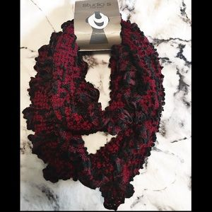 Brand new Red and Black scarf