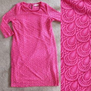 Allison Daley Dresses & Skirts - Hot Pink Dress