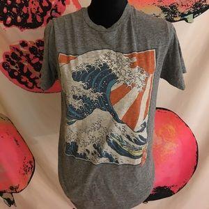 wave shirt art