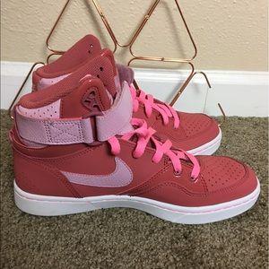 Pink Nike Air Force 1 sz 9