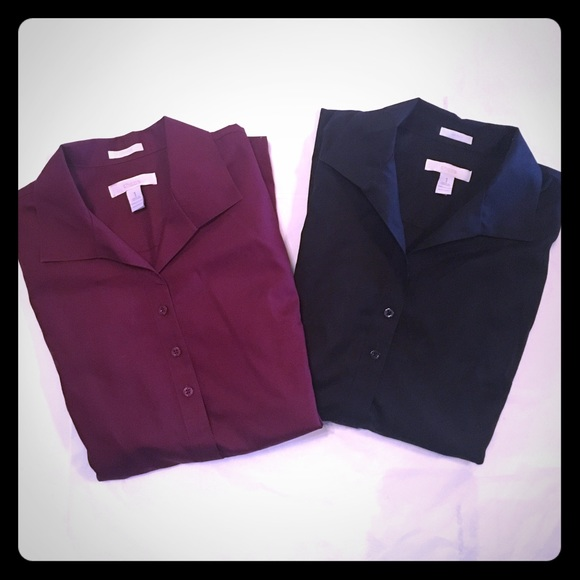 75 Off Chico 39 S Tops Chico 39 S Collared Shirt Bundle No