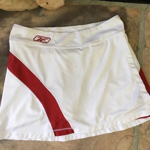 Reebok Dresses & Skirts - Red White Reebok Women's XS Athletic Tennis Skirt