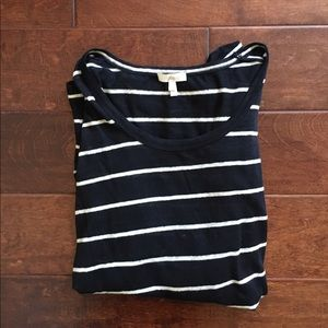 Joie Black and White Pullover Top