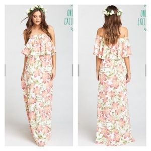 873c1c7616ab84 Show Me Your MuMu Dresses | Hacienda Maxi Dress Lily Lady | Poshmark