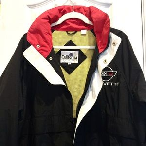 Other - ⬇️⬇️CORVETTE UTILITY JACKET W/HIDEABLE HOOD!