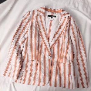 Lida Baday Jackets & Coats - FINAL FLASH- Lida Baday Marigold Ribbons Blazer