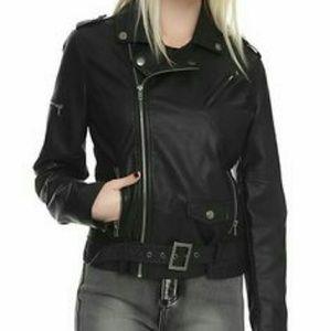 Ashley By 26 International Jackets & Blazers - Leather Black Jacket