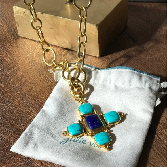 Julie Vos Jewelry Pendant Necklace Brand New Poshmark