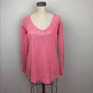 Element Tops - Element cotton mesh pullover top
