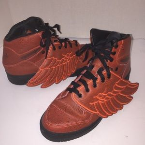 Jeremy Scott x Adidas Other - Jeremy Scott x Adidas Basketball Winged Sneakers