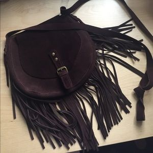 Bethany Mota cross body fringe bag