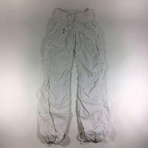 Lululemon dance studio pants WHITE
