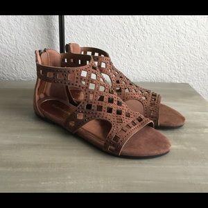 Laura Ashley Shoes - Laura Ashley Jeweled Gladiator Sandals