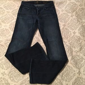 7 for all Mankind high waist bootcut size 28
