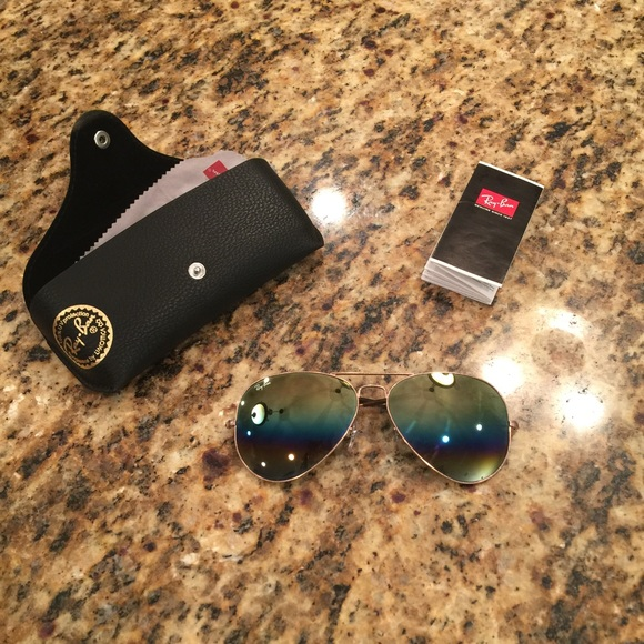 c7fce82dda Ray-Ban Original 58 Aviator Rainbow Sunglasses. M 5935de6641b4e0986300823c.  Other Accessories ...