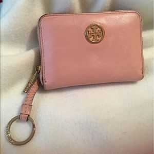Tory Burch Rare Ballet Pink Wallet Coin Purse