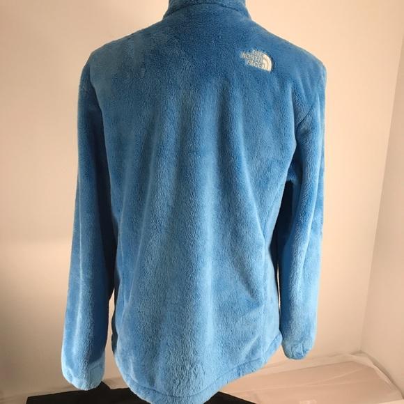Soft fuzzy north face jackets