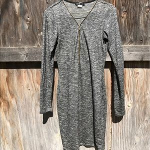 long sleeved bodycon dress