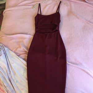 e5c84bf57f83a Boohoo Dresses - Boohoo Tanya Strappy Cut Out Midi Dress