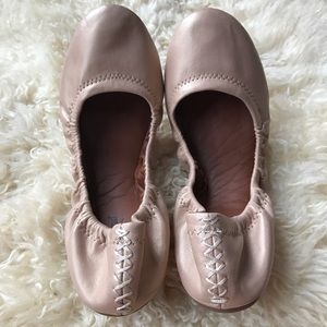 NEW Lucky Brand Leather Emmie Flat 7.5