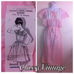 Adonna Other - NWT vintage Adonna Waltz length gown circa 50'/60s