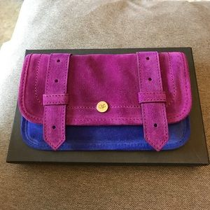 Proenza Schouler Handbags - Brand New Proenza Schouler Purple/Blue PS1 Wallet