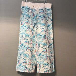 NWOT Lilly Pulitzer Linen Beach Pant